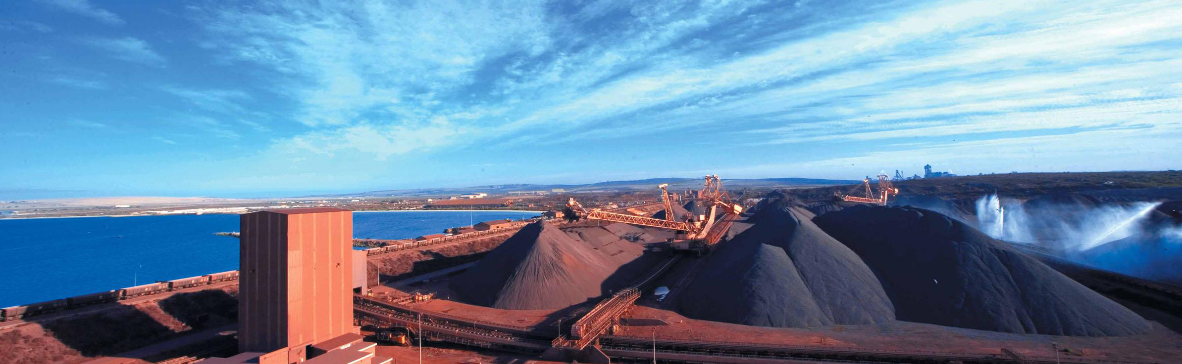 Iron ore resources, export from South Africa